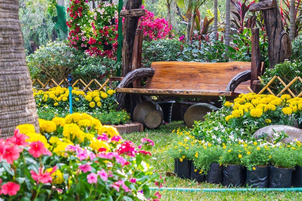 decoracion de pequeños jardines
