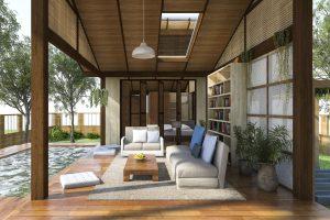 decoracion de terrazas con piscina