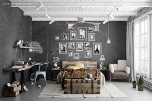 decoracion living comedor estilo eclectico