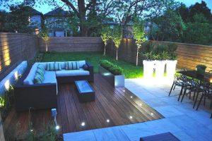 diseño de jardines planos