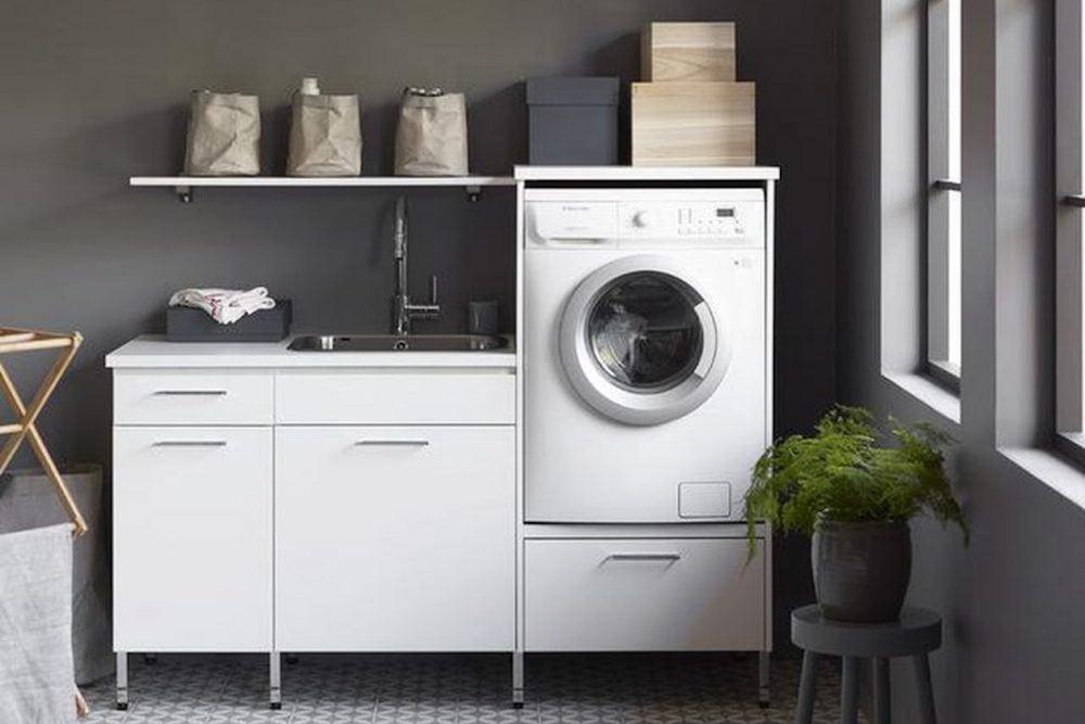 lavadero con mueble