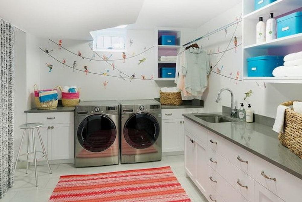 Lavadero un espacio agradable con todo organizado for Lavadero porcelana