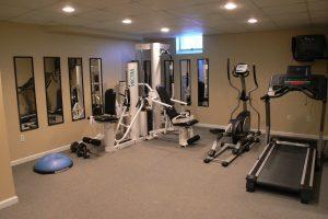 como hacer un gimnasio casero en casa