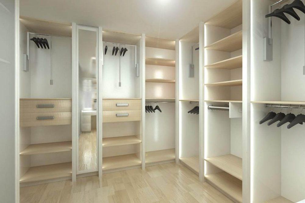 Organiza toda tu ropa gracias a nuestros vestidores - Como hacer un closet en una habitacion ...