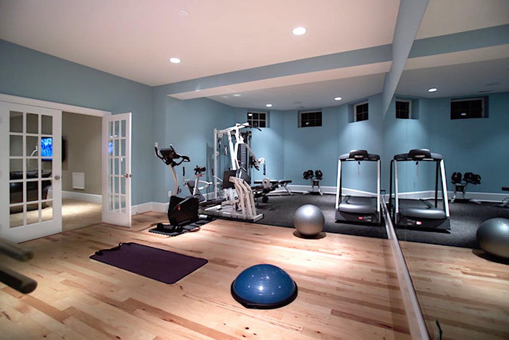 construir gimnasio en casa
