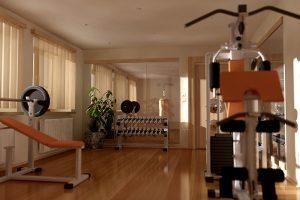 decoración gimnasio en casa