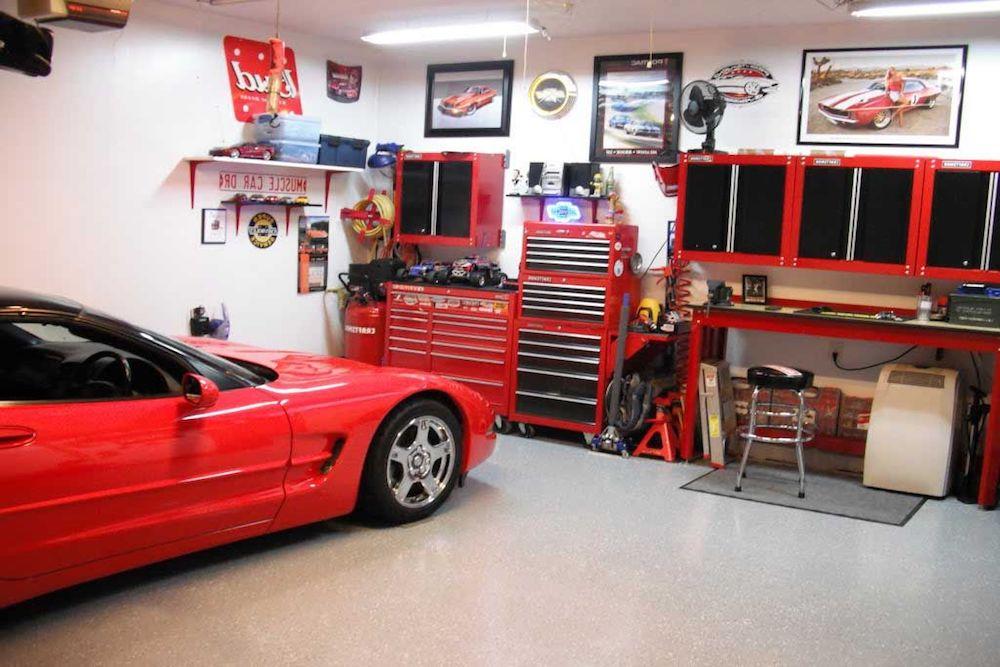 decorar un garaje