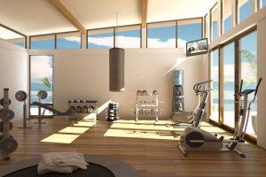 hacer gimnasio en casa