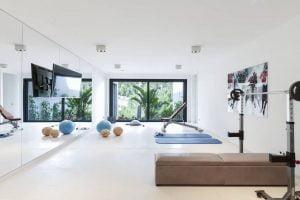 hacer un gimnasio en casa
