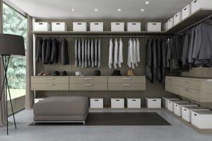 ideas de vestidores economicos