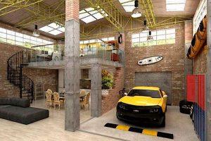 ideas para garajes pequeños