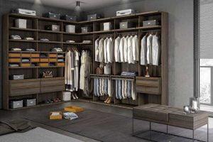 tienda decoración de vestidores
