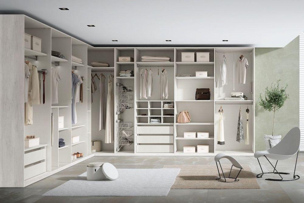 vestidores de diseño italiano