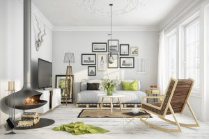 ideas para decorar salon estilo nordico