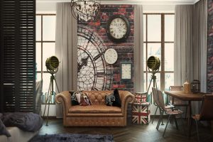 tienda decoracion salon industrial
