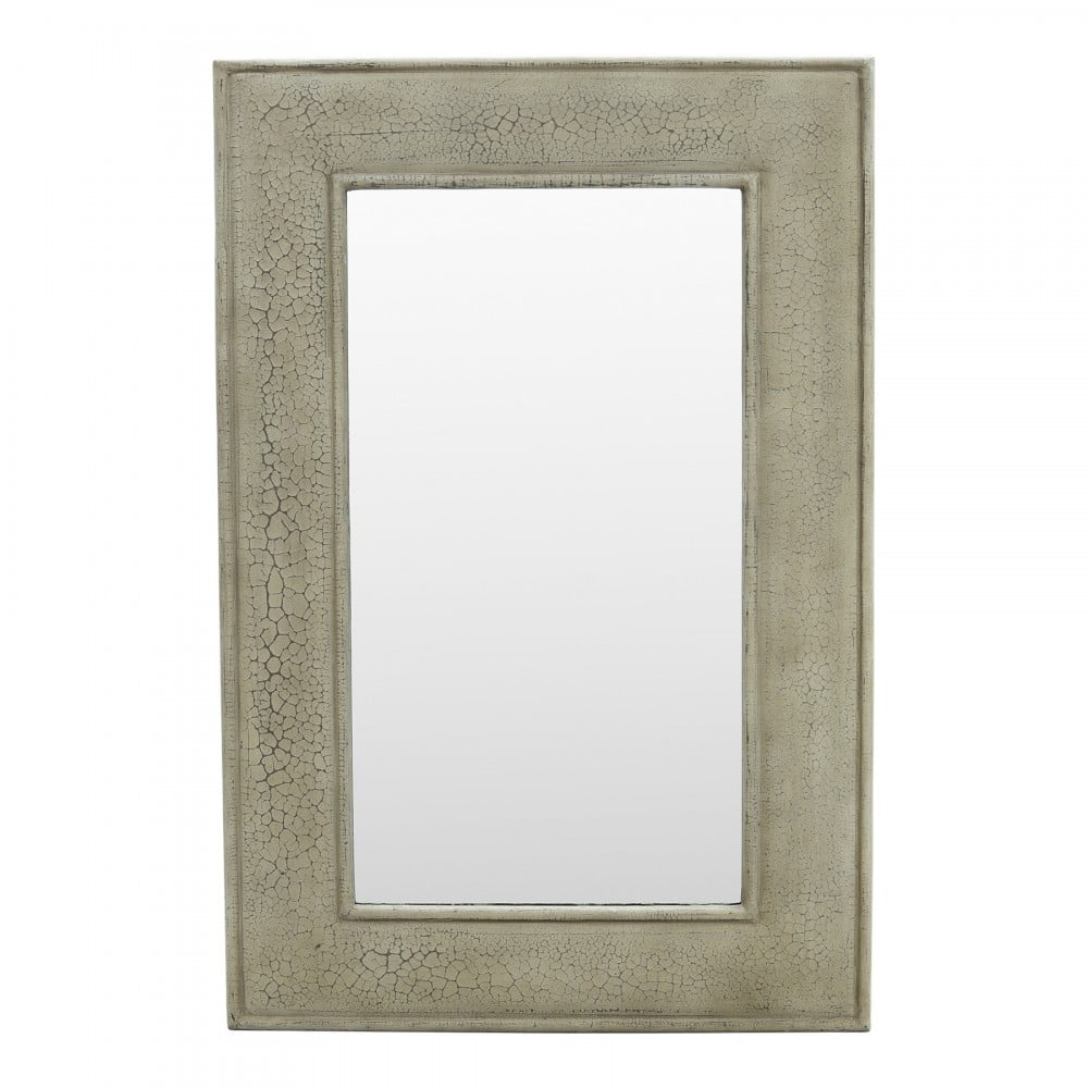 Espejos moldura gris plata Becara