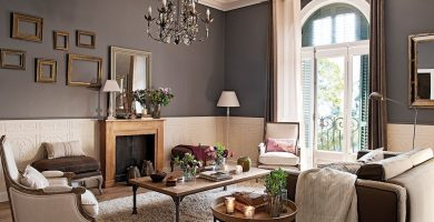 colores de pintura para salones clasicos