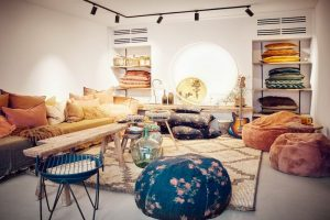decoracion boho chic salones