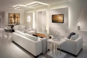 decoracion de interiores salas minimalistas