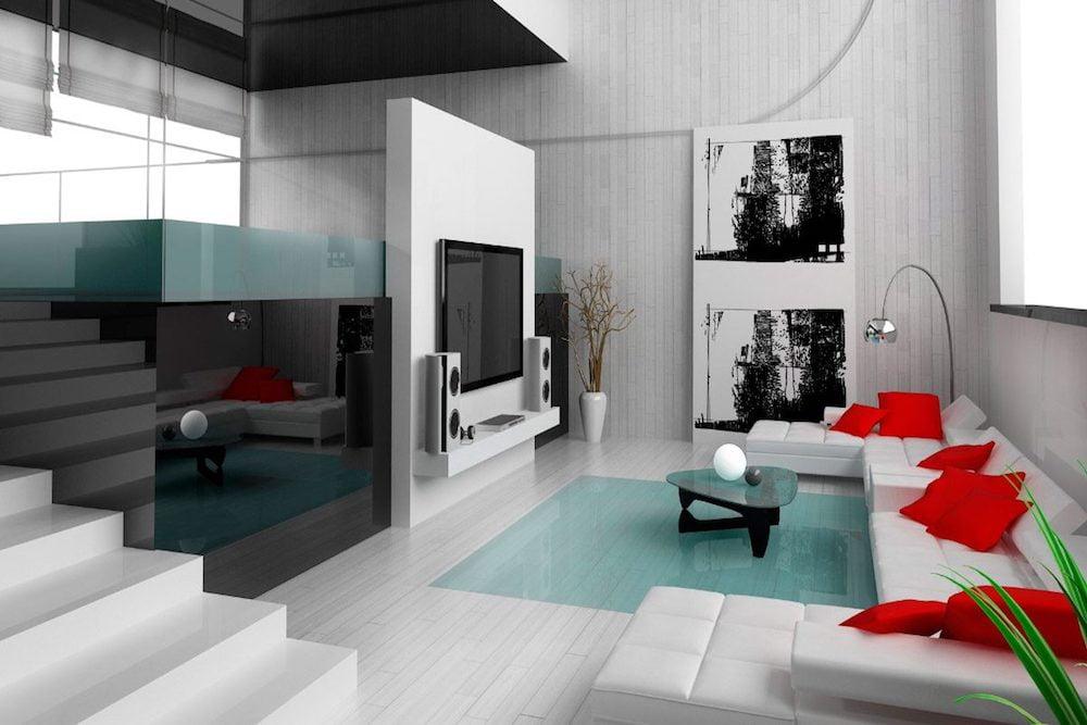 decoracion de interiores salones minimalistas