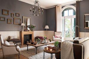 decoracion de salones pequeños clasicos