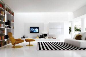 decoracion minimalista salon pequeño