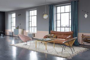 decoracion salas estilo vintage
