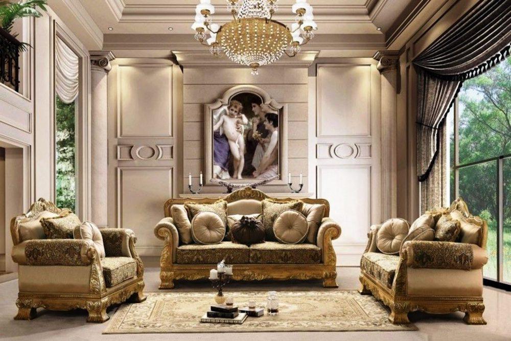 decoracion salones pequeños clasicos