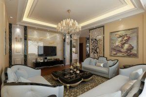 decorar salon clasico renovado