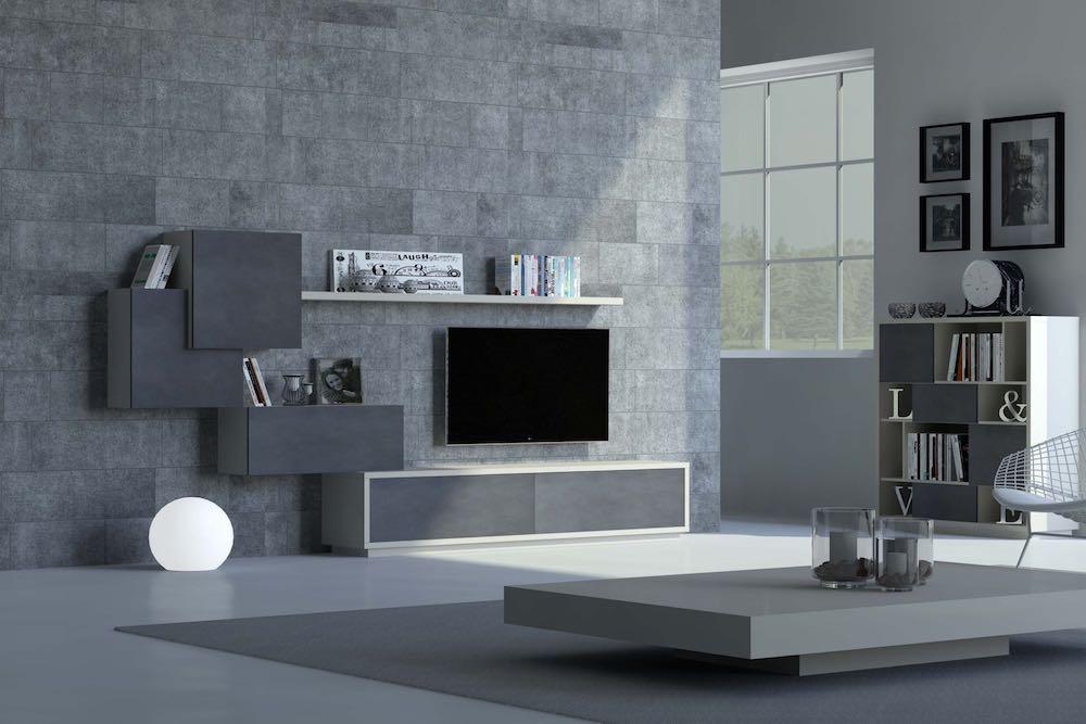 decorar salon pequeño minimalista