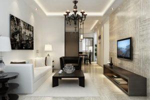 ideas para decorar un salon minimalista