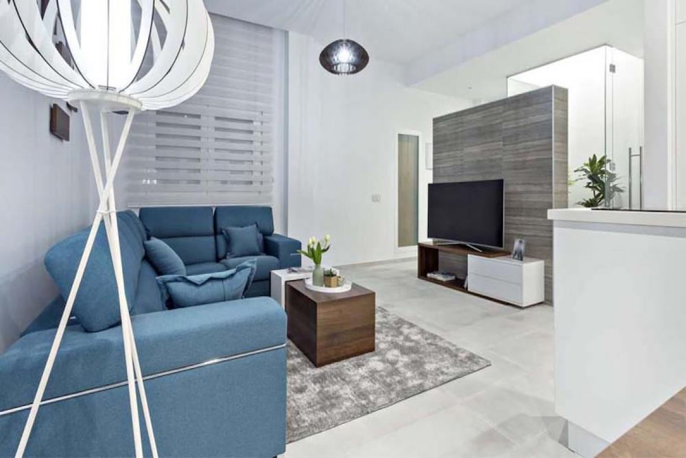 ▷ Sencillo y práctico con un salon minimalista | Prodecoracion