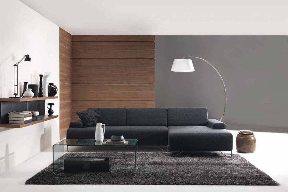 sala minimalista decoracion