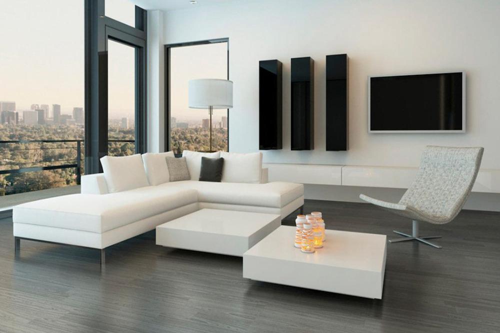 salon minimalista decoracion