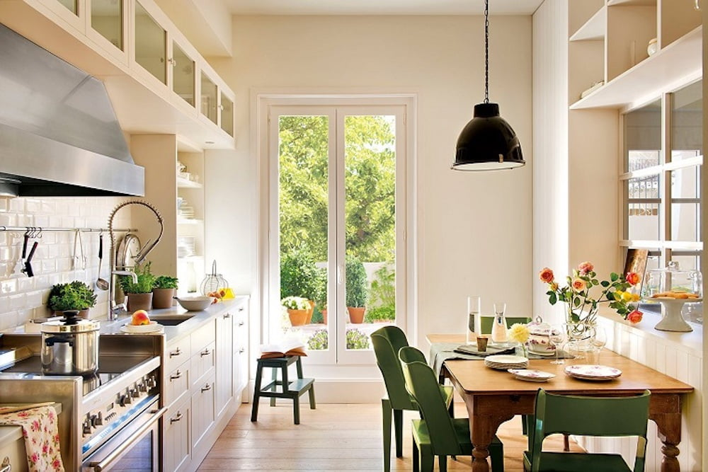 cocina decoracion nordica