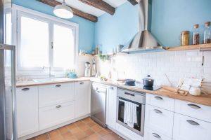 colores para pintar una cocina rustica