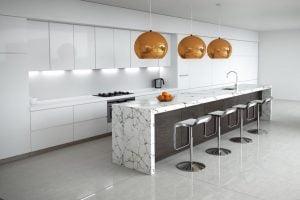como decorar cocina minimalista