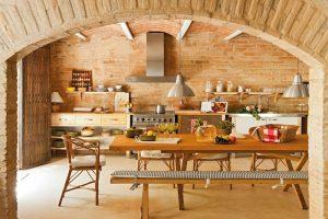 como decorar cocina rustica