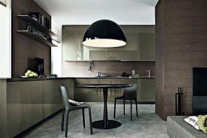 como decorar sala comedor y cocina minimalista
