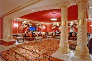 como decorar salon arabe