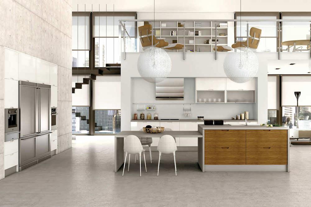 como decorar una cocina minimalista