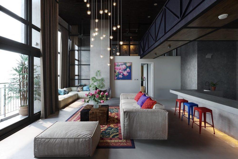 como pintar salas modernas