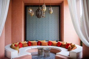 decoracion arabe en salones