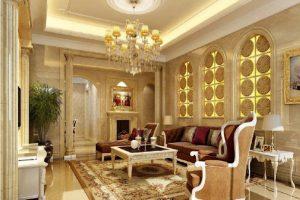 decoracion arabe para salon