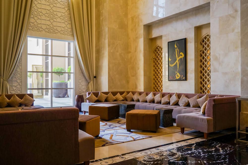 decoracion arabe salon