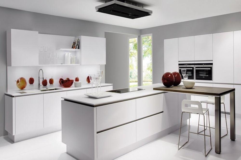 decoracion cocinas minimalistas pequeñas