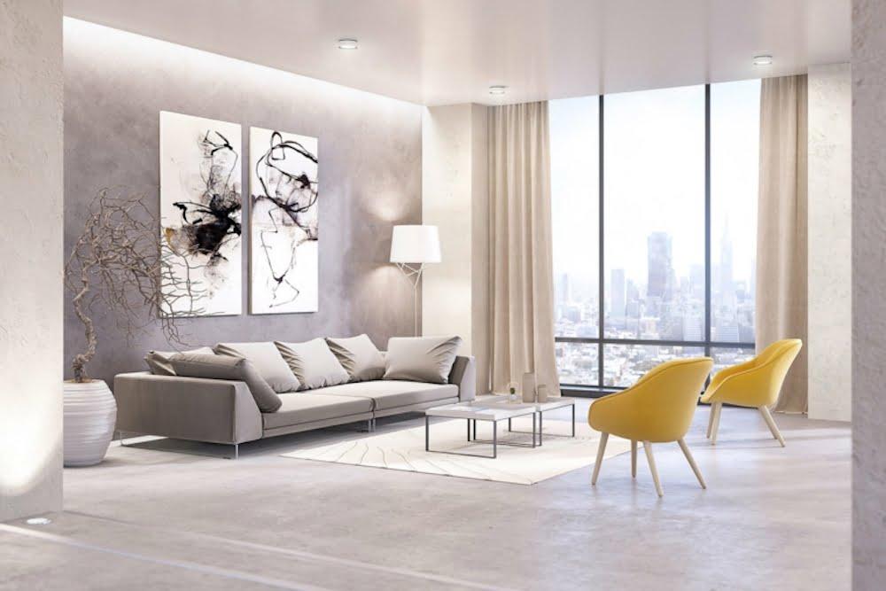 decoracion cortinas para salas modernas