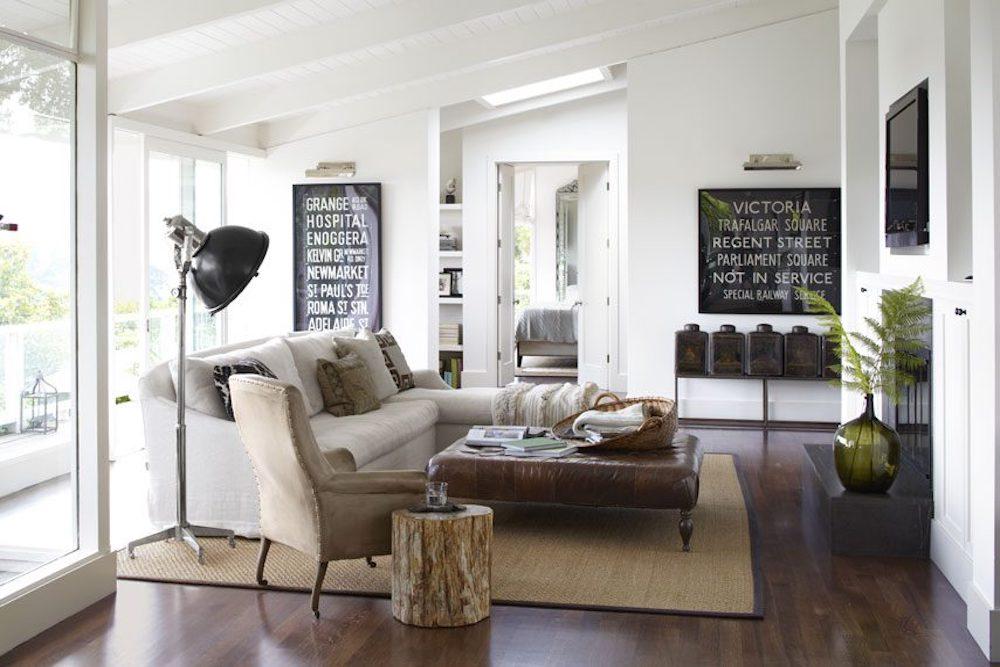 decoracion de salas de estar vintage