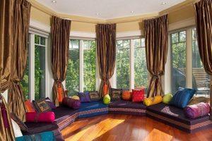 decoracion estilo arabe salon