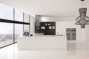 decoracion minimalista en la cocina